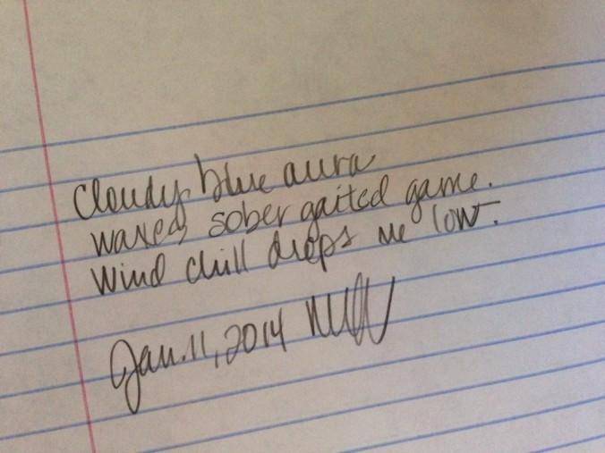 haiku scribbling